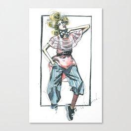 Bow Tie Canvas Print