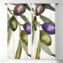 Olive Branch I Blackout Curtain
