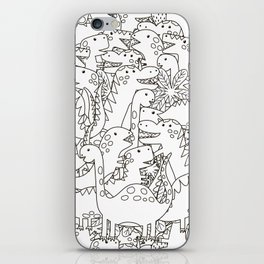 Dinosauriformes iPhone Skin