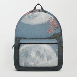 Cherry Blosom Moon Backpack
