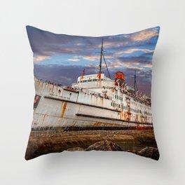 Duke of Lancaster Sunset Throw Pillow
