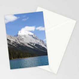 Mountains of Maligne Lake 5 Stationery Cards