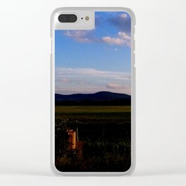 A Touch of Sunset Clear iPhone Case