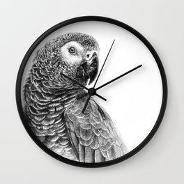 Gray Parot G083 Wall Clock
