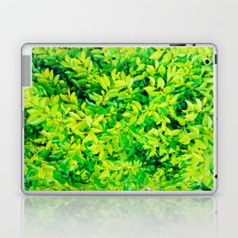 hojas verdes Laptop & iPad Skin
