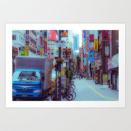 Before The Commute Art Print