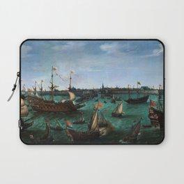 "Hendrik Cornelisz Vroom ""The Arrival of Elector Frederick V of the Palatinate and Elizabeth"" Laptop Sleeve"