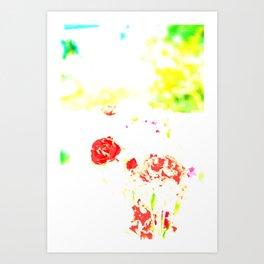 Flower's fantasy  Art Print