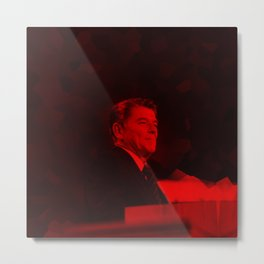 Ronald Reagan - Celebrity (Photographic Art) Metal Print