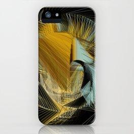 Van Gogh's in Stitches iPhone Case
