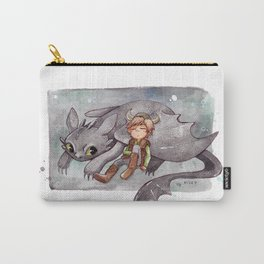Toothless and Hiccup Carry-All Pouch