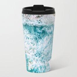 Tropical VI - Beach Waves II Travel Mug
