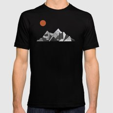 Mountainview Mens Fitted Tee Black X-LARGE