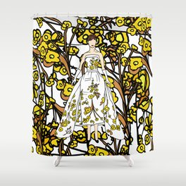 Audrey 12 Shower Curtain