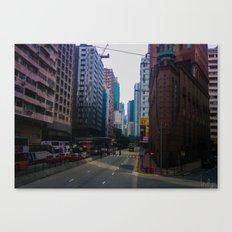 Hong Kong Triangle Canvas Print