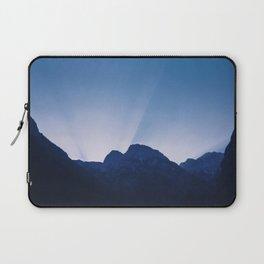 Cold Mountain Sunrays Laptop Sleeve