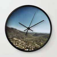 france Wall Clocks featuring France by jmdphoto
