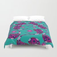 paisley Duvet Covers featuring Paisley by luizavictoryaPatterns