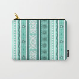 Wonderland Stripe Carry-All Pouch