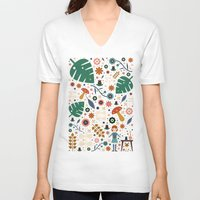 nausicaa V-neck T-shirts featuring Nausicaa by Carly Watts