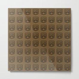 Maya pattern 5 Metal Print
