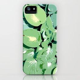 Hosta 01 iPhone Case