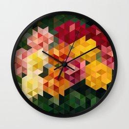 Chrysanthemums 1 Wall Clock