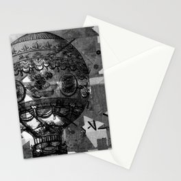 Vintage Hot Air Balloon Stationery Cards