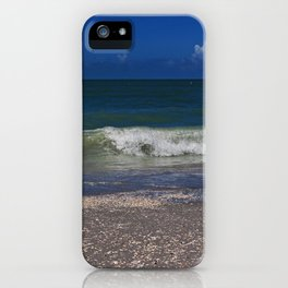 Hitched a Ride on a Wave iPhone Case