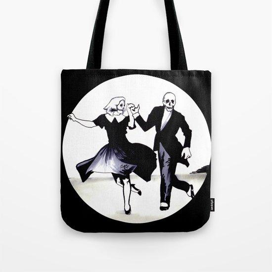 Skeleton Swing Tote Bag