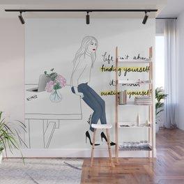 Create Yourself Wall Mural