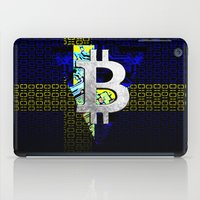 sweden iPad Cases featuring bitcoin sweden by seb mcnulty