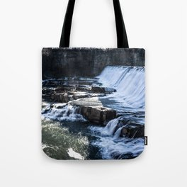Upstate New York Waterfall Tote Bag