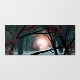 The secret of the Fireflies! Canvas Print