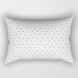 Mini Anchors Rectangular Pillow