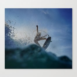 Whips Of Fun Canvas Print