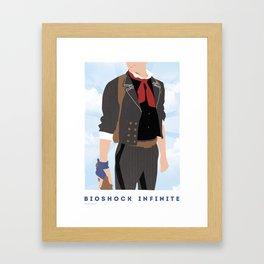 Booker DeWitt Framed Art Print