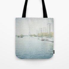 Letters From Les Barges - Paris Tote Bag