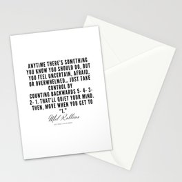 4  | Mel Robbins Quotes | 190802 Stationery Cards