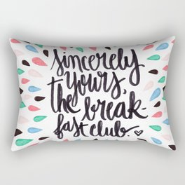 Does that answer your question? Rectangular Pillow