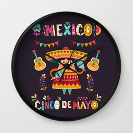 Cinco de Mayo – Mexico Wall Clock