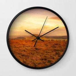 Heather Down Wall Clock