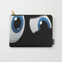 Judgy Eyes Not Impressed Skeptic  Carry-All Pouch