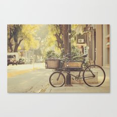Bike I Canvas Print