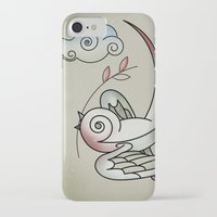 sparrow iPhone & iPod Cases featuring Sparrow by Vin Zzep