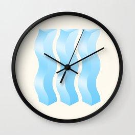 Geometric Vibes: Wisdom Wall Clock
