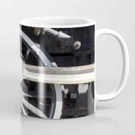 Locomotive 2355 Steam Engine Wheel 1912 Coffee Mug