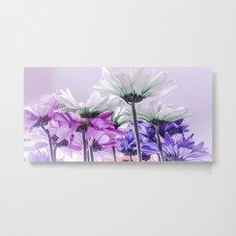Purple Lavender Flowers Metal Print