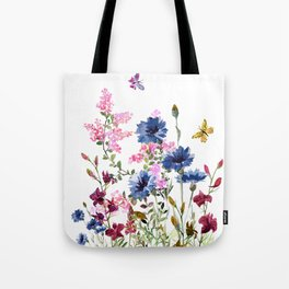 Wildflowers IV Tote Bag
