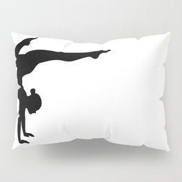 B&W Contortionist Pillow Sham